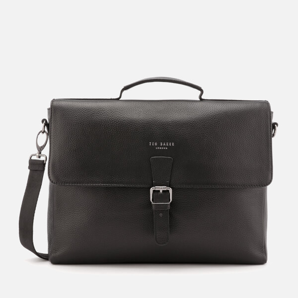 2055084b1a Ted Baker Men s Departs Leather Satchel Bag - Black Mens Accessories ...