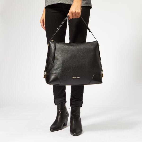 f3345064f2ae MICHAEL MICHAEL KORS Women's Crosby Cross Body Shoulder Bag - Black: Image 3