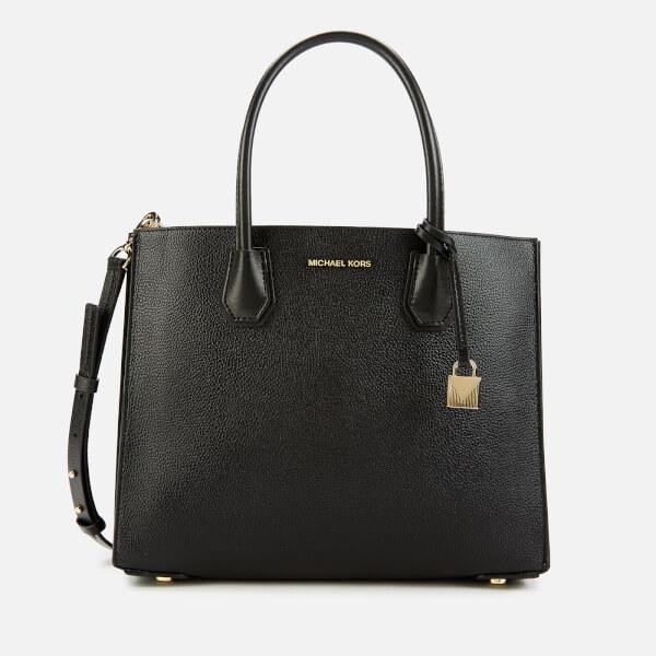 MICHAEL MICHAEL KORS Women's Mercer Acordian Tote Bag - Black