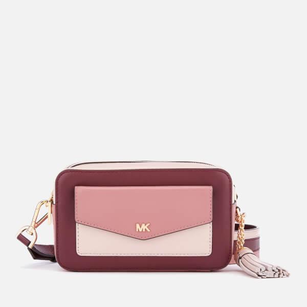MICHAEL MICHAEL KORS Women's Pocket Camera Bag - Rose Multi