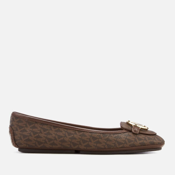 MICHAEL MICHAEL KORS Women's Lillie Moc Flats - Brown
