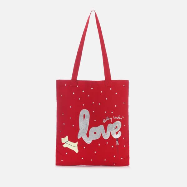 Radley Women's Love is in the Air Medium Tote Bag - Claret