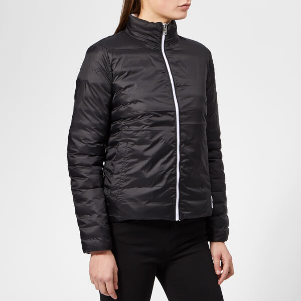0a8c353f11a Calvin Klein Jeans Women s Reversible Padded Jacket - Black Womens ...