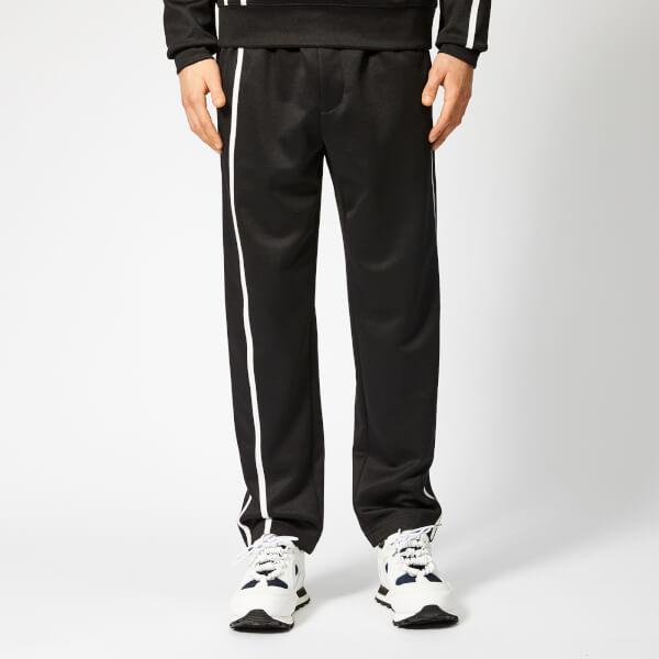 Helmut Lang Men's Sport Stripe Sweatpants - Black/White