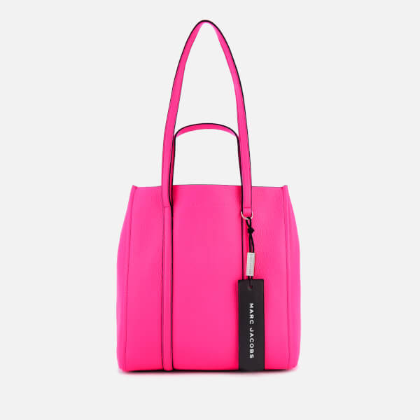 8ad09624ed71 Marc Jacobs Women s The Tag Tote 27 Bag - Bright Pink  Image 1