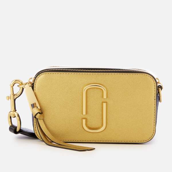 Marc Jacobs Women's Snapshot Cross Body Bag - Gold Multi