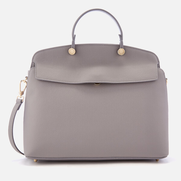 0feba5c2488 Furla Women's My Piper Medium Top Handle Bag - Grey: Image 1