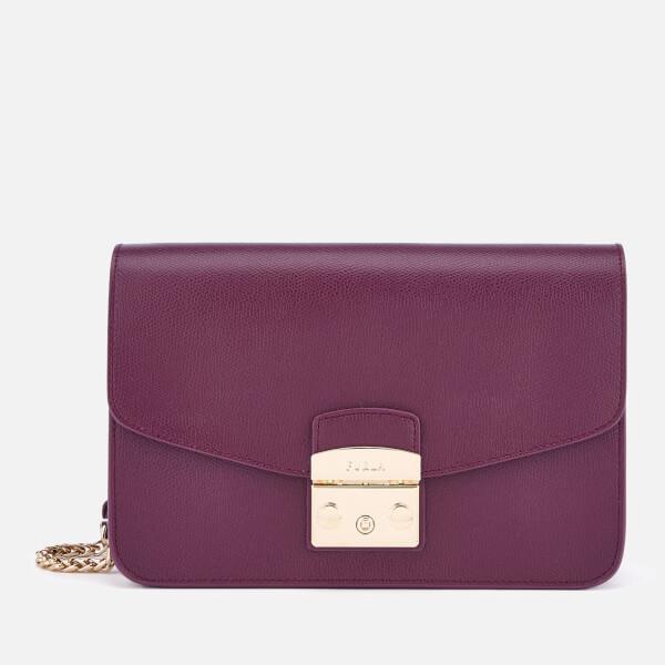 Furla Women's Metropolis Small Shoulder Bag - Purple