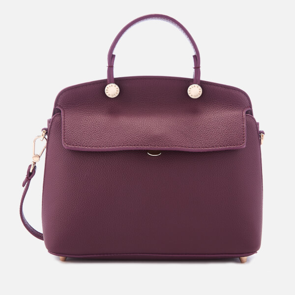 Furla Women's My Piper Small Top Handle Bag - Purple