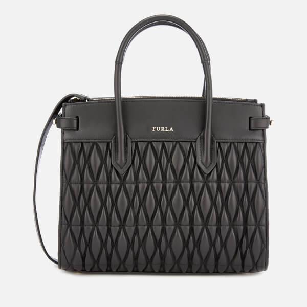 Furla Women's Pin Cometa Small Tote Bag - Black