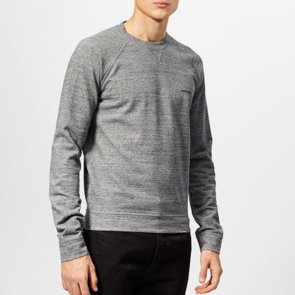 Dsquared2 Men's Small Logo Sweatshirt - Grey Melange