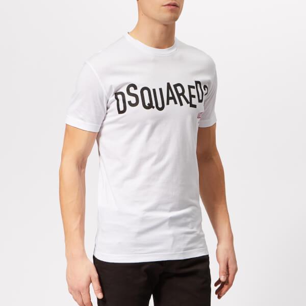 Dsquared2 Men's Cool Fit Punk Logo T-Shirt - White