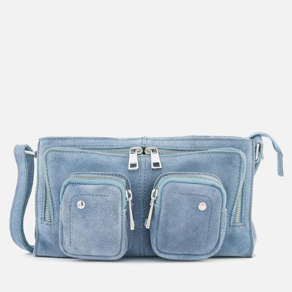 Núnoo Women's Stine Suede Bag - Light Blue