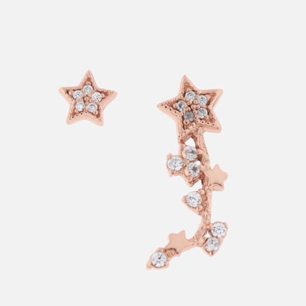 Olivia Burton Women's Celestial Crawler and Stud - Rose Gold