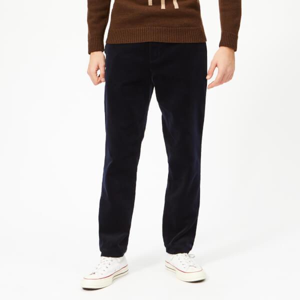 Oliver Spencer Men's Fishtail Cord Trousers - Navy