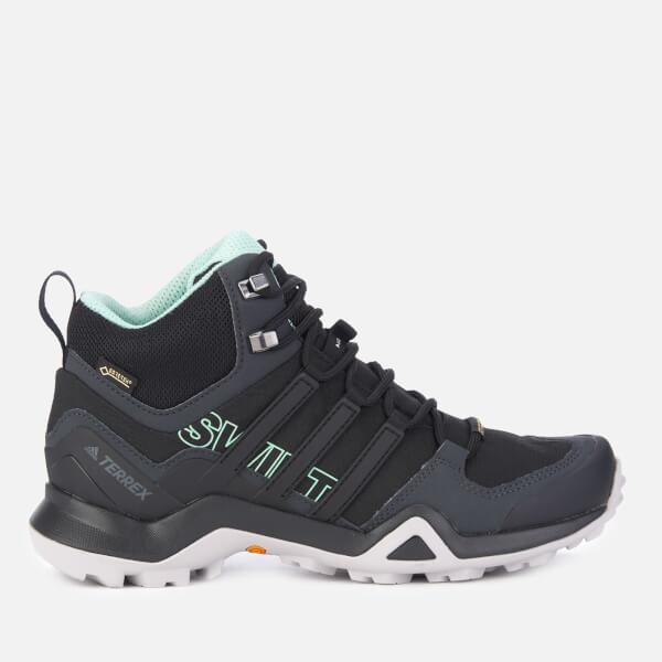 adidas Women s Terrex Swift R2 Mid Hiking Boots - Black Sports ... 8b978e886c