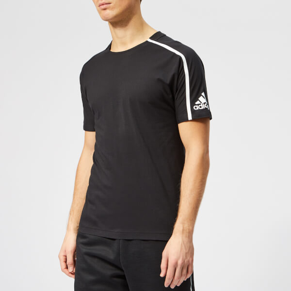 110007db4 adidas Men s Z.N.E. Short Sleeve T-Shirt - Black Sports   Leisure ...