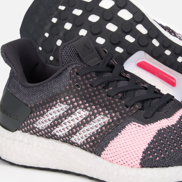 53f56c5f78741 adidas Women s Ultraboost ST Trainers - Carbon FTW White Grey Six  Image 4