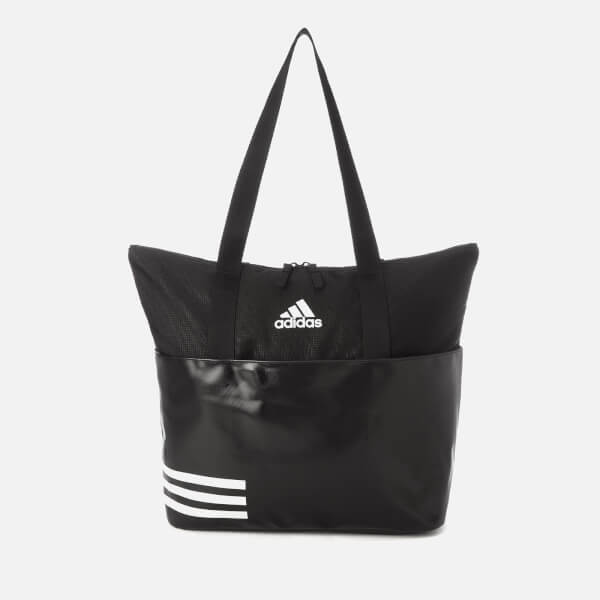 adidas Women's 3 Stripe Tote Bag - Black: Image 1
