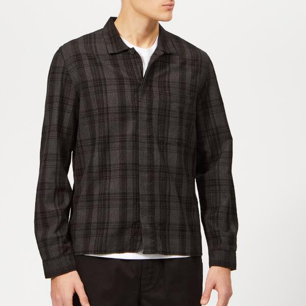 Folk Men's Patch Shirt - Charcoal Multi