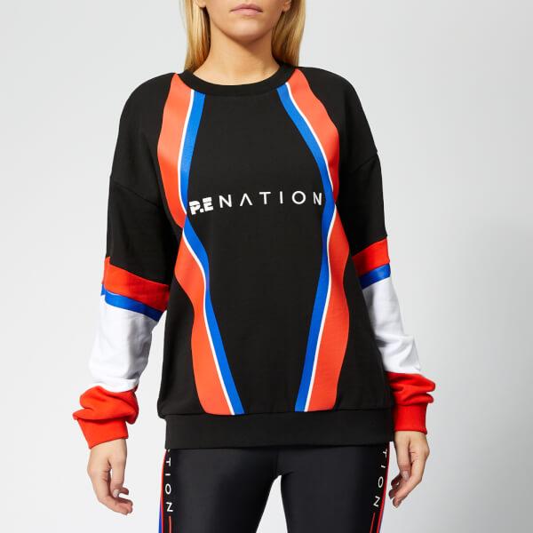 P.E Nation Women's Buzzer Sweatshirt - Print