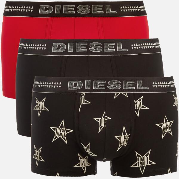 Diesel Men's Damien Three Pack Boxer Shorts - Multi