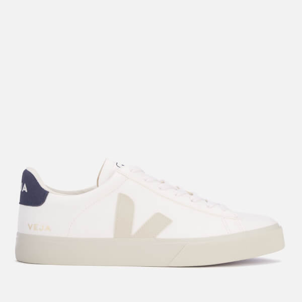 Veja Men's Campo Vegan Trainers - White/Nautico
