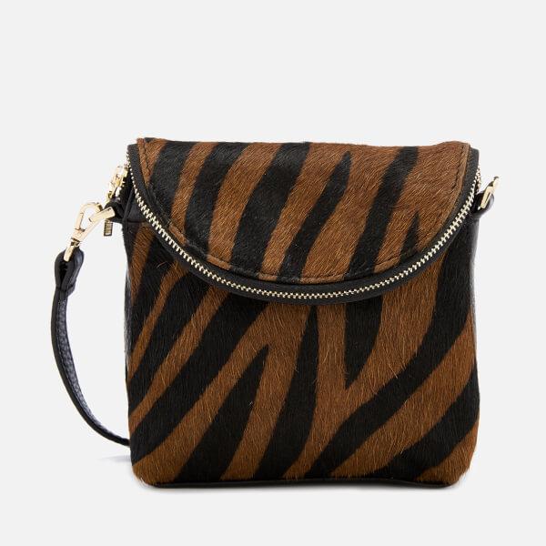 Whistles Women's Victoria Mini Cross Body Bag - Zebra Print