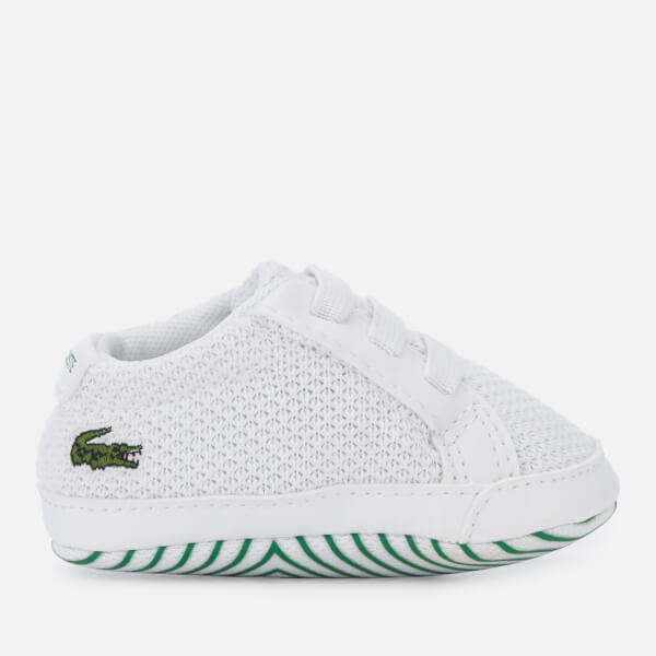 Lacoste Babies L.12.12 Crib 318 1 Trainers - White/Green