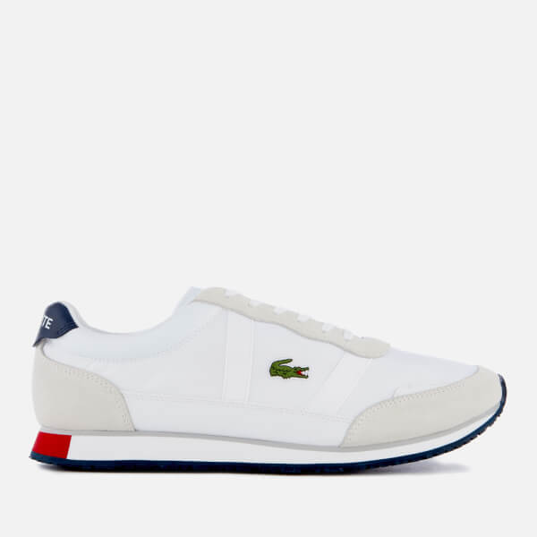 d2a863ed9 Lacoste Men s Partner 119 1 Runner Style Trainers - White Navy Red  Image