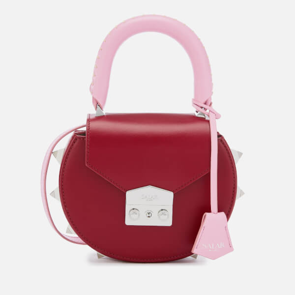 SALAR Women's Mimi Multi Bag - Ruby Bubble Milk