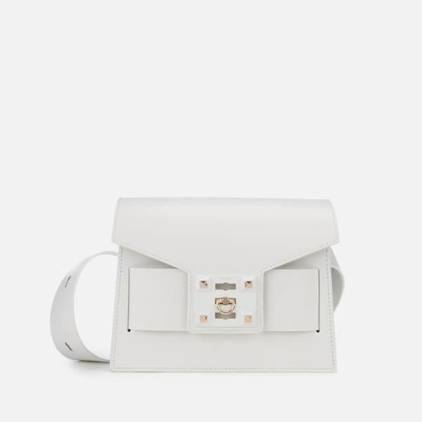 SALAR Women's Mila Basic Bag - White