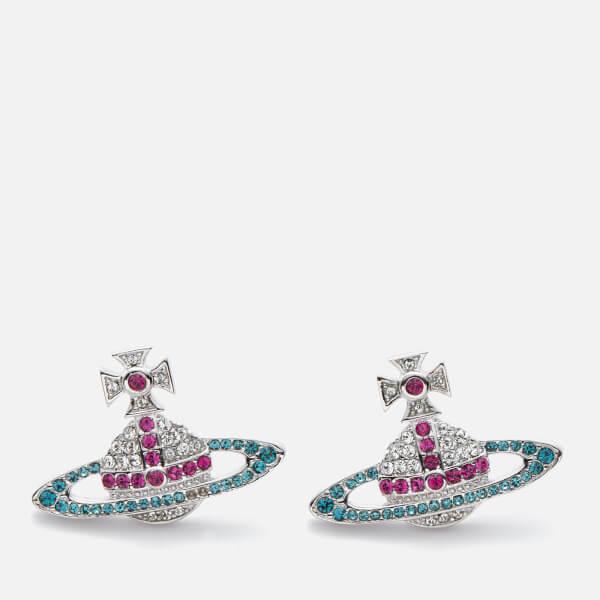 Vivienne Westwood Women's Kika Earrings - Fuchsia / Rhodium