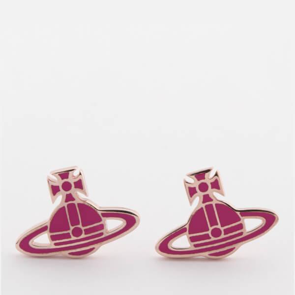 Vivienne Westwood Women's Kate Earrings - Pink/Pink Gold