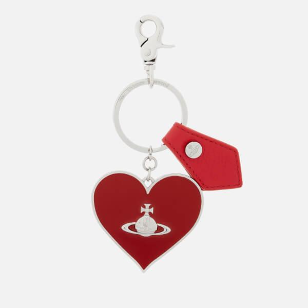 Vivienne Westwood Women's Balmoral Mirror Heart Gadget Keyring - Red