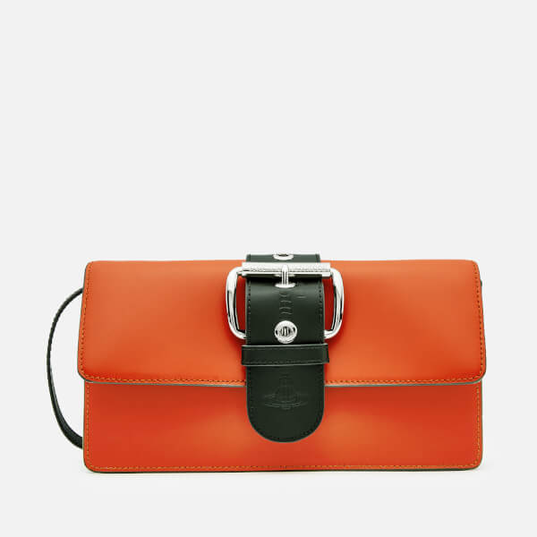 Vivienne Westwood Women's Alex Clutch Bag - Orange