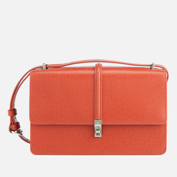 1d5808cc7b18 Vivienne Westwood Women s Sofia Small Cross Body Bag - Orange  Image 1