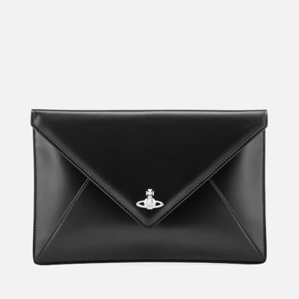 Vivienne Westwood Women's Private Envelope Pouch - Black