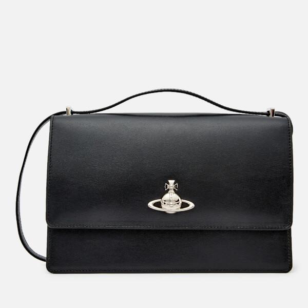 Vivienne Westwood Women's Matilda Large Bag with Flap - Black