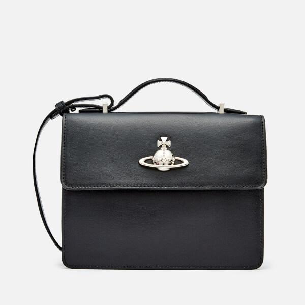 Vivienne Westwood Women's Matilda Medium Shoulder Bag - Black
