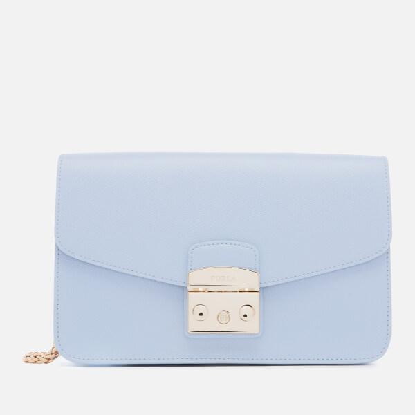 Furla Women's Metropolis Small Shoulder Bag - Blue