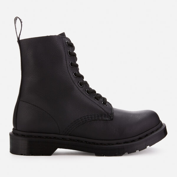 Dr. Martens Women's 1460 Virginia Leather Pascal 8-Eye Boots - Black Mono