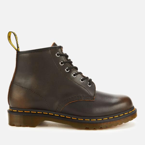 Dr. Martens Men's 101 Vintage Leather 6-Eye Boots - Butterscotch