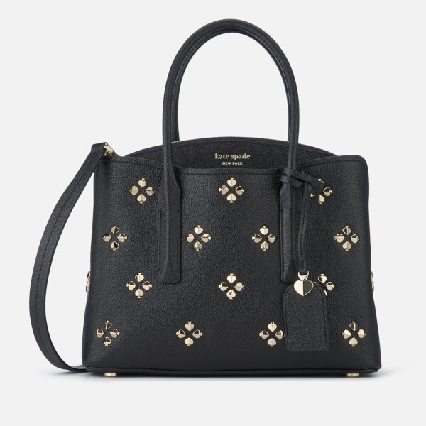 Kate Spade New York Women's Margaux Spade Stud Medium Tote Bag - Black