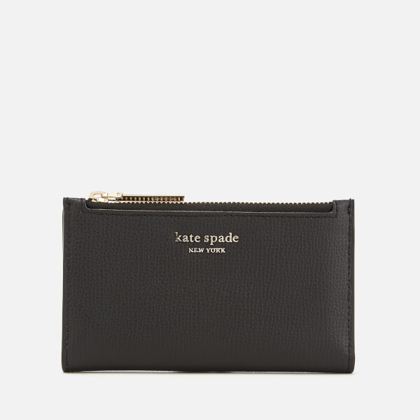 Kate Spade New York Women's Sylvia Small Slim Bifold Wallet - Black