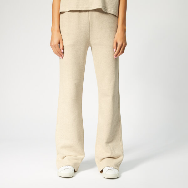Champion Women s Bell Bottom Pants - Off White - Free UK Delivery ... 20268ad28