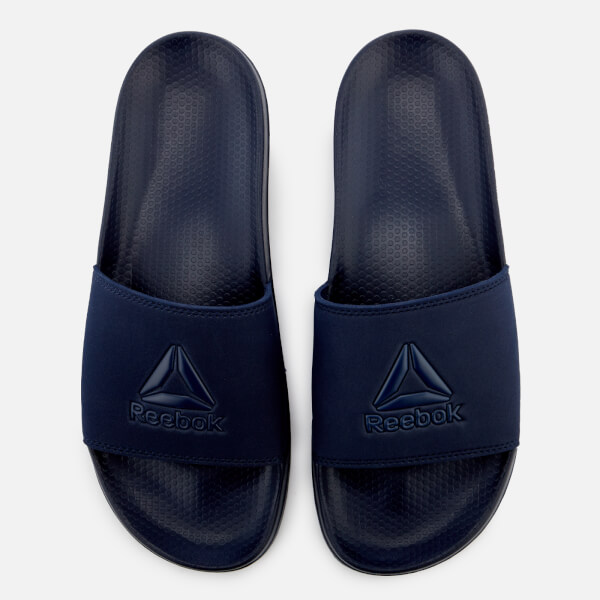 b9d279a22 Reebok Men S Fulgere Slide Sandals Navy Sports Leisure Thehut