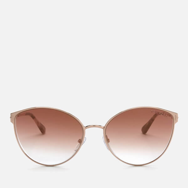 Tom Ford Women's Zeila Sunglasses - Gold/Violet
