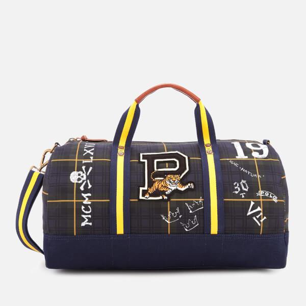 Polo Ralph Lauren Men s Canvas Duffel Bag - Gordon Tartan - Free UK ... 41e84b503e792