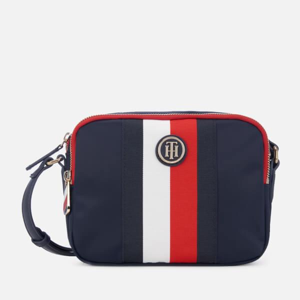 54bc9feb1 Tommy Hilfiger Women's Poppy Nylon Crossover Bag - Corporate: Image 1
